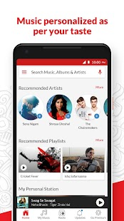 Wynk Music - Download & Play Songs, MP3, HelloTune Screenshot