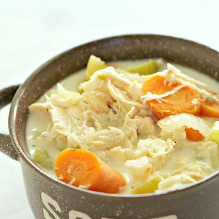 Low Carb Chicken Pot Pie Soup Recipe