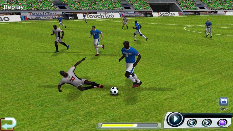 Screenshots of World Soccer League for iPhone