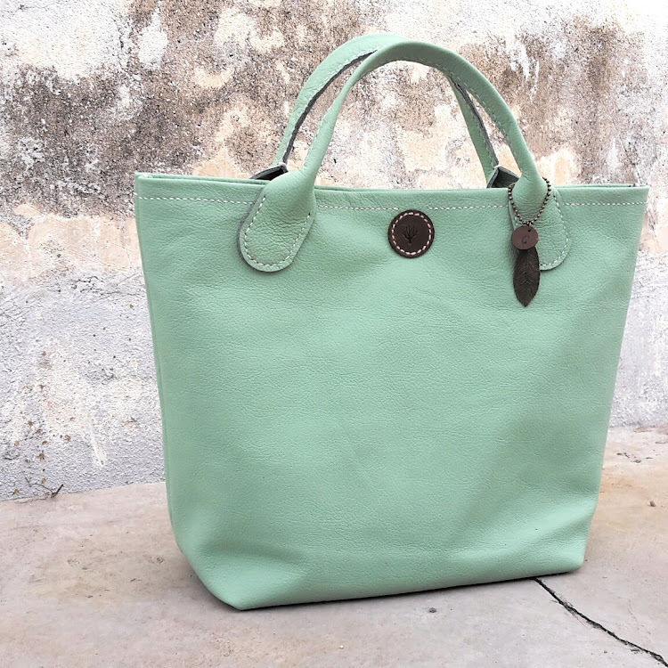 Teana Tote Bag by CORALC ATELIER Co