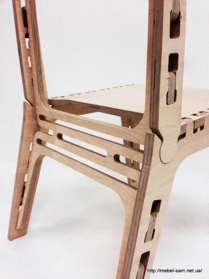 а тут видно почему и как спинка стула будет упругой