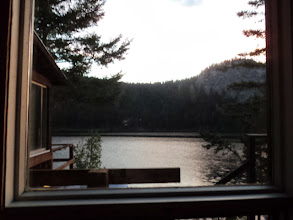 Photo: The view from our bedroom. Day 3 around 5:30 am -ish.