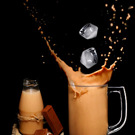 Chocolate Ice Milo by M Harits Fadhli - Food & Drink Alcohol & Drinks ( milk, ice, cold, milo, fresh, sweet, delicious, chocolate )