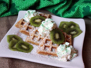 Irish Belgian Waffles Recipe