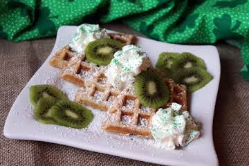 Irish Belgian Waffles