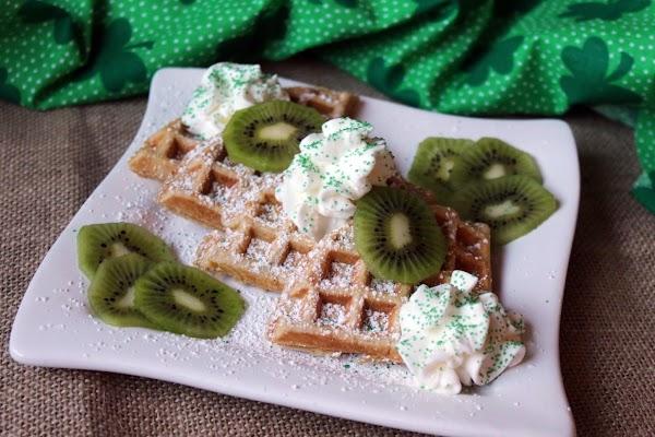Irish Belgian Waffles Recipe