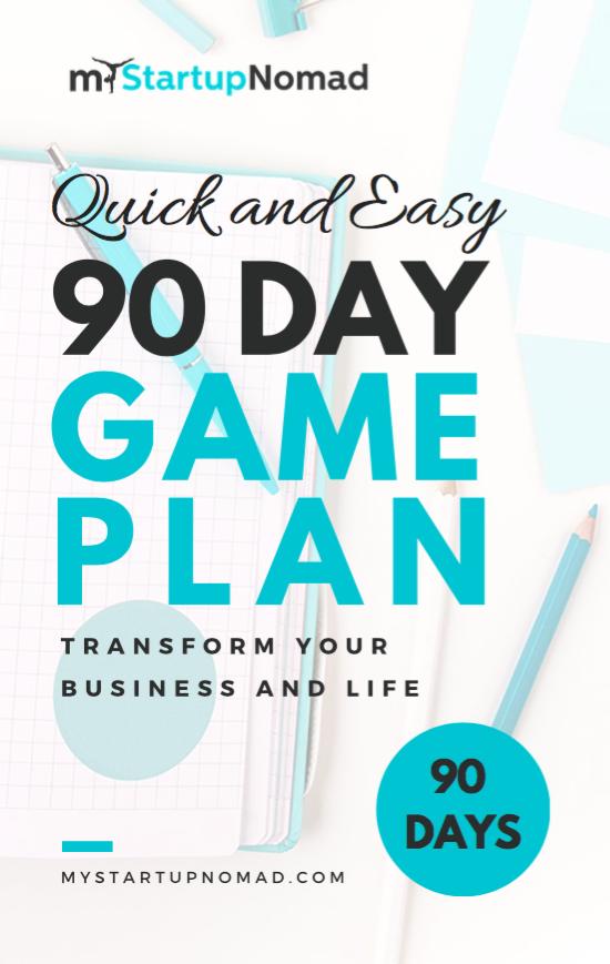 90 Game Plan Worksheets