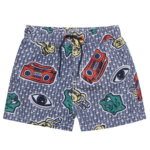 Primary image of Kenzo Kids Field Swim Shorts