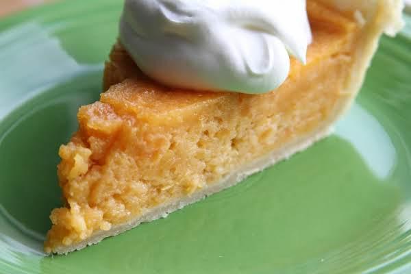 Simple Sweet Potato Pie