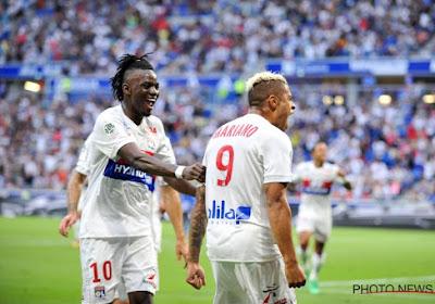 Contrairement à Nice, Lyon réussit bien son entrée, Mbenza bat Peeters