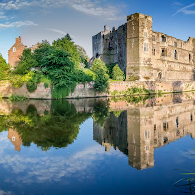 Newark Castle by Tony Walker - Buildings & Architecture Public & Historical ( notts, newark, castle, reflections, river trent, civil war, bridge )
