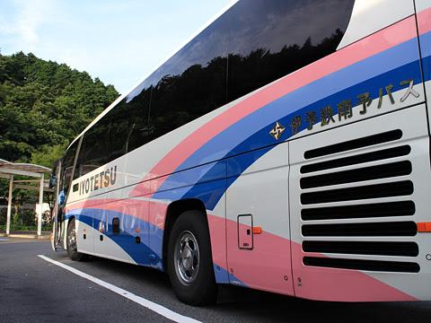伊予鉄南予バス「道後エクスプレスふくおか号」 5388 桜三里PAにて その6