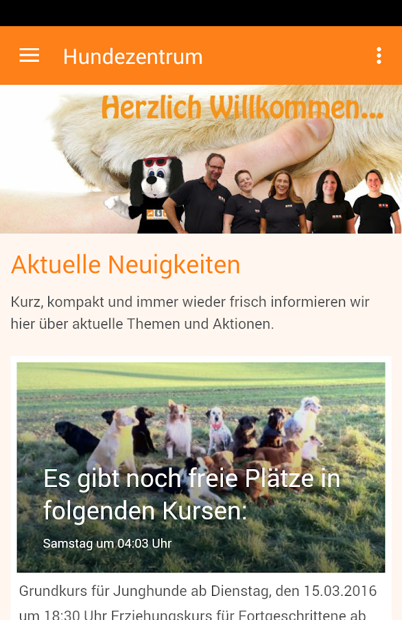 Hundezentrum Kerpen- screenshot