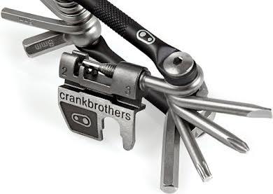 Crank Brothers Multi-17 Mini Tool, Nickel alternate image 6
