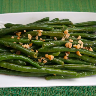 String Beans with Garlic.