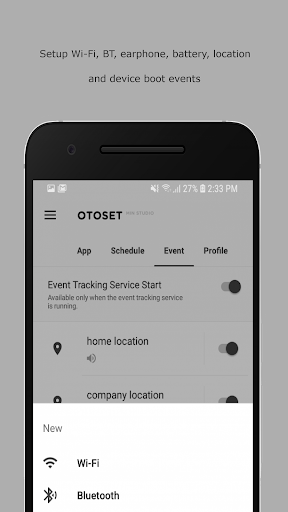 OTOSet - Android Automation Device Settings  screenshots 3