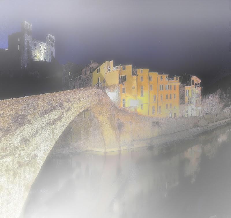 Nebbia nella notte di Enrico Balla