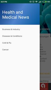 Health and Medical News - náhled