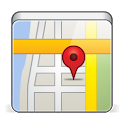 Where am I - My GPS position icon