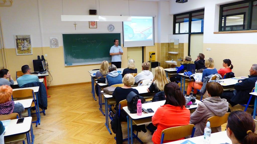 Alan Čaplar gostujući predavač u planinarskoj školi