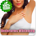 Get Rid Of Dark Underarms Naturally Tips icon
