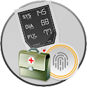 Blood Pressure : BP History Info Tracker Diary App icon