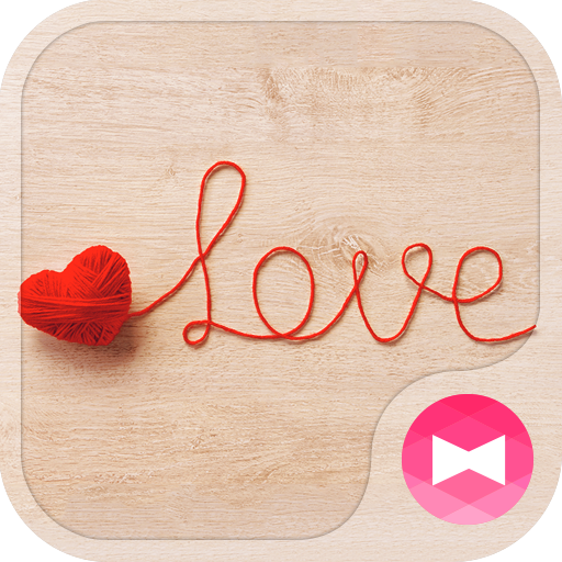 Cute Wallpaper Yarn Love Theme Icon