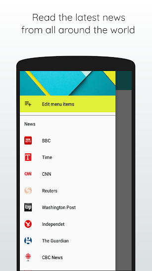 Quick World News - Breaking News & Podcast screenshot for Android