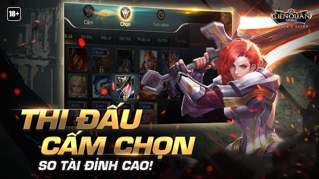 Garena ليان كوان موبايل APK screenshot thumbnail 3