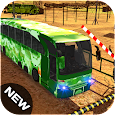 Offroad Army Coach Bus driver Hill Simulator 18