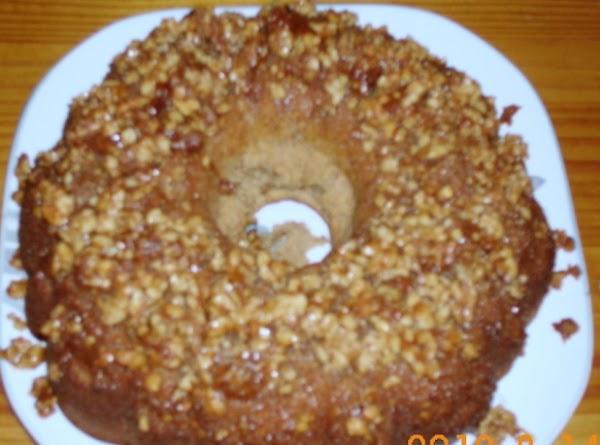 Banana Walnut Crunch Bundt Cake Recipe