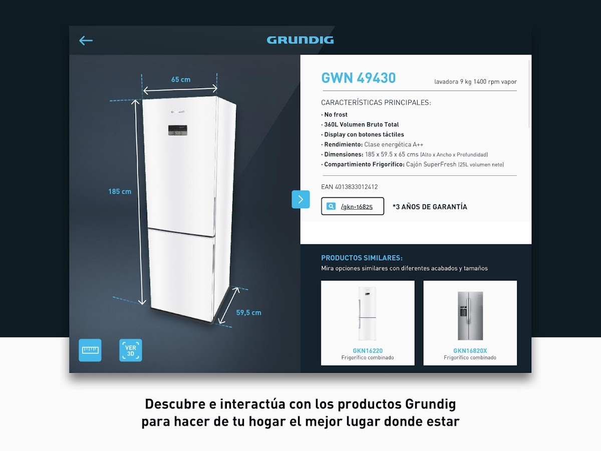 GRUNDIG 3D- screenshot
