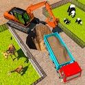 Zoo Construction: Heavy Excavator Truck Driving icon