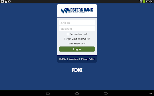 Western Bank Mobile Banking- screenshot thumbnail