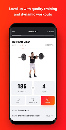 Volt: Gym & Home Workout Plans 1.79.0 screenshots 1