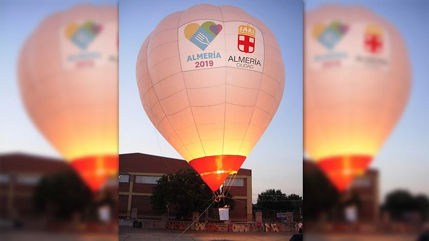 Así será el globo que permitirá disfrutar de Almería desde las alturas.