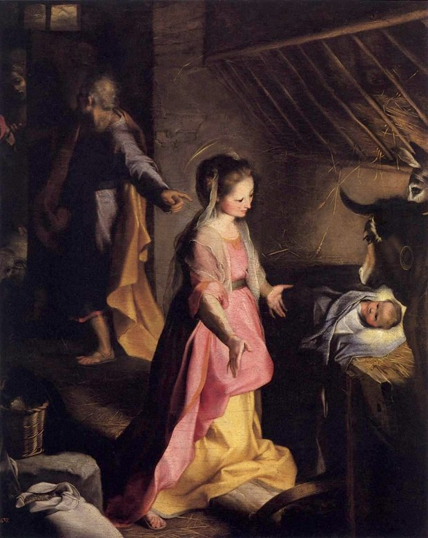The Nativity, Federico Barrocci, Prado museum, Madrid.jpeg