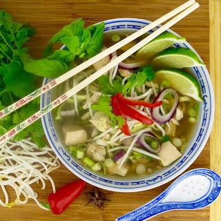 Pho Ga Vietnamese Soup.