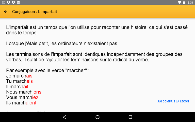android Exogus CE2 Révision français Screenshot 13