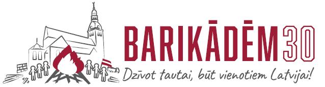 "Logo ""Barikādēm 30"" Avots: https://www.tm.gov.lv/"