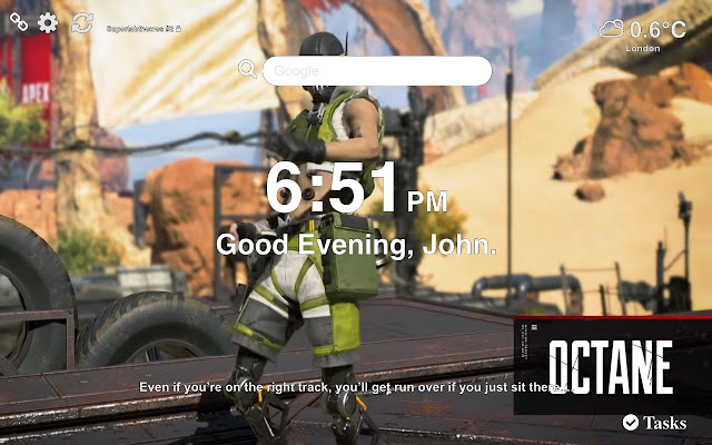 Octane Apex Legends Wallpapers New Tab