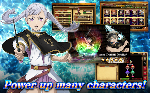 Mod Game Black Clover Phantom Knights for Android