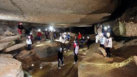 Imagen de las rutas guiadas en Cuevas de Sorbas.