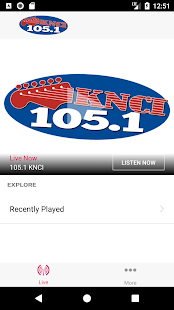 New Country 105.1 KNCI- screenshot thumbnail