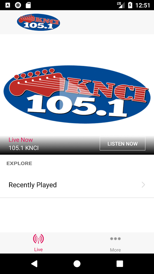 New Country 105.1 KNCI- screenshot
