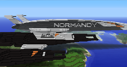 Photo: the Normandy SR2 from Mass Effect, built by MarineShadow