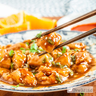 30-Minute Skinny Orange Chicken.