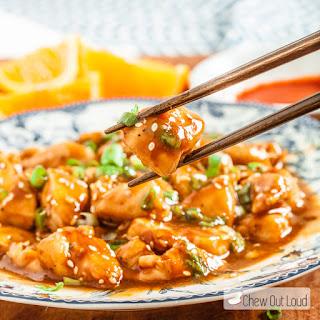30-Minute Skinny Orange Chicken.