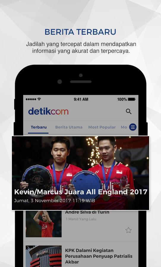 detik    berita terbaru dan terlengkap   android apps on