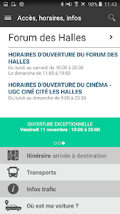 Forum des Halles screenshot 4